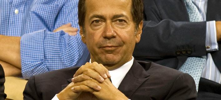 Ο επενδυτής Τζον Πόλσον στέλνει μήνυμα στην Ελλάδα: Παγώνουμε κάθε επένδυση μέχρι την εκλογή Προέδρου