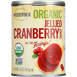 Woodstock - Organic Cranberry Sauce - Jellied - Case of 12 - 14 oz.