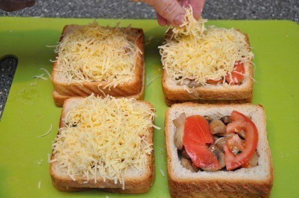 DIY Delicious sandwich as breakfast6