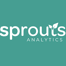 Logo for the company, Sprouts Analytics