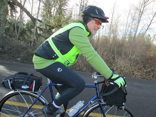 Michal (and new bike)
