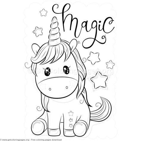 Cartoon Clipart Of A Black And White Chubby Unicorn - Vector ... | 474x474