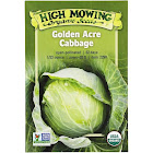 High Mowing Organic Seeds Organic Golden Acre Cabbage Seeds 1 Packet
