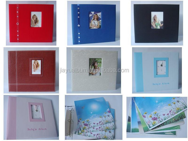 Customized Leather Paper Cloth Scrapbook Album Buy 12x12 Post