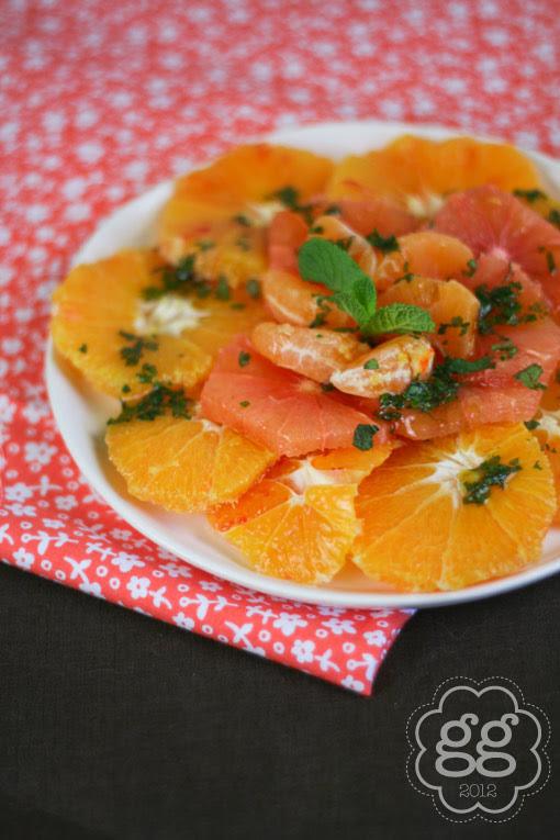 insalata dolce di agrumi