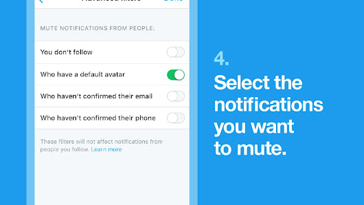 Twitter will now let you mute specific words from your timeline — and mute 'eggs' without profile photos