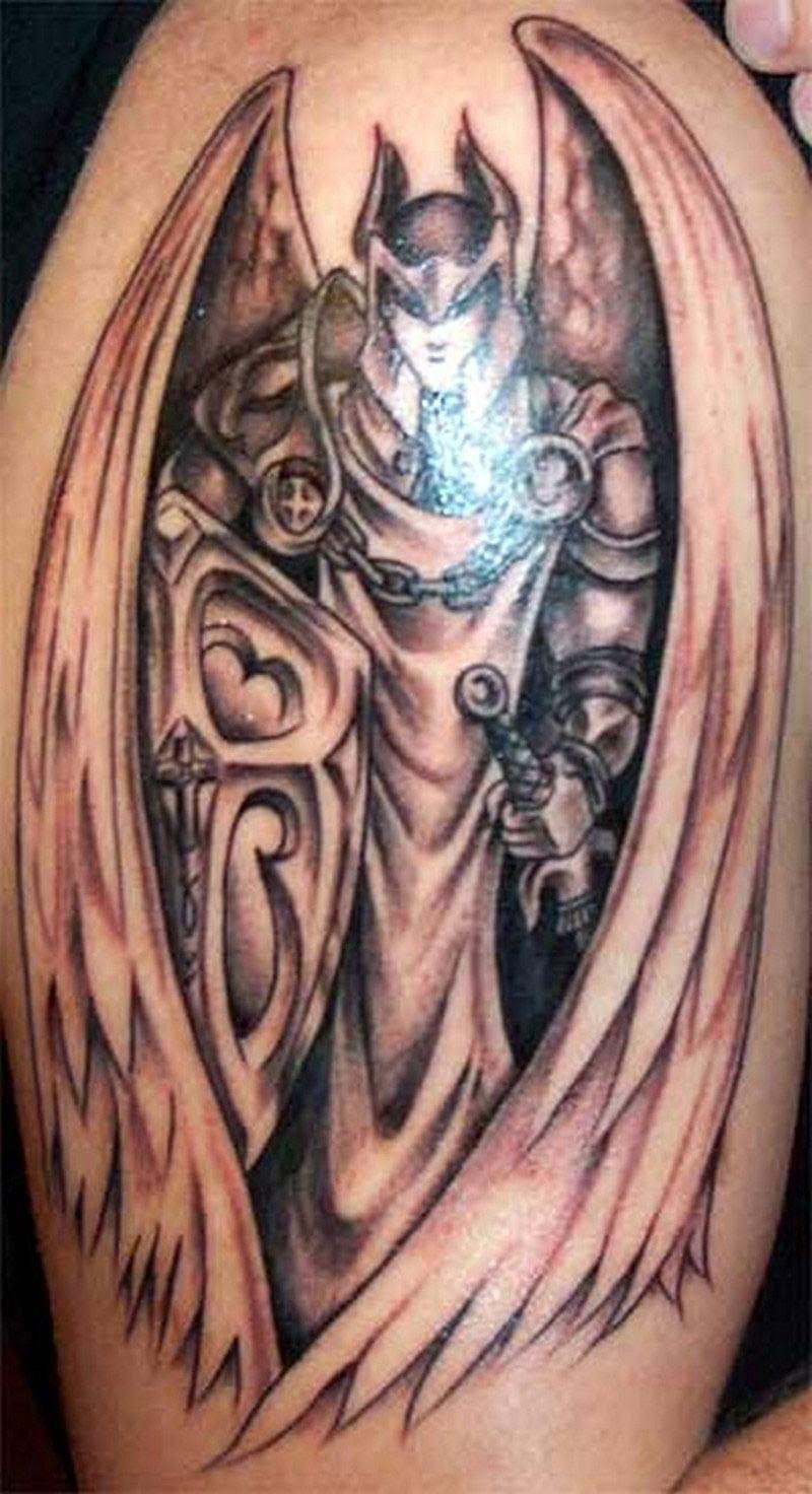Angel And Demons Tattoos Designs Cool Tattoos Bonbaden