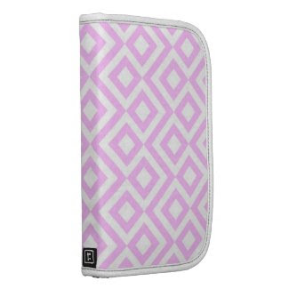 Pink and White Meander Planners