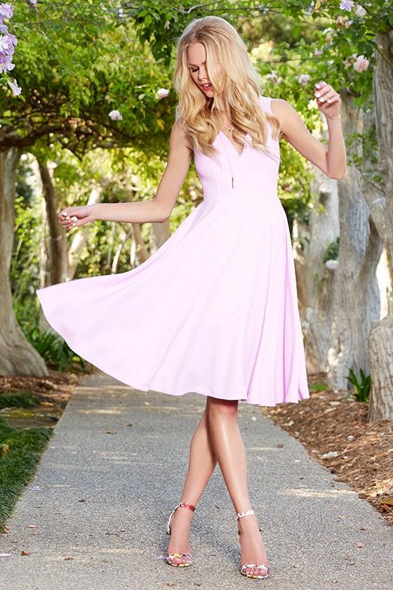 Of My Dreams Lavender Midi Dress at Lulus.com!