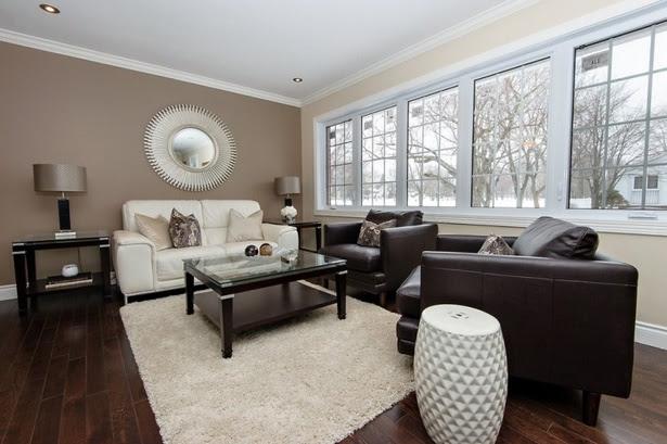 Wandfarbe wohnzimmer helle möbel