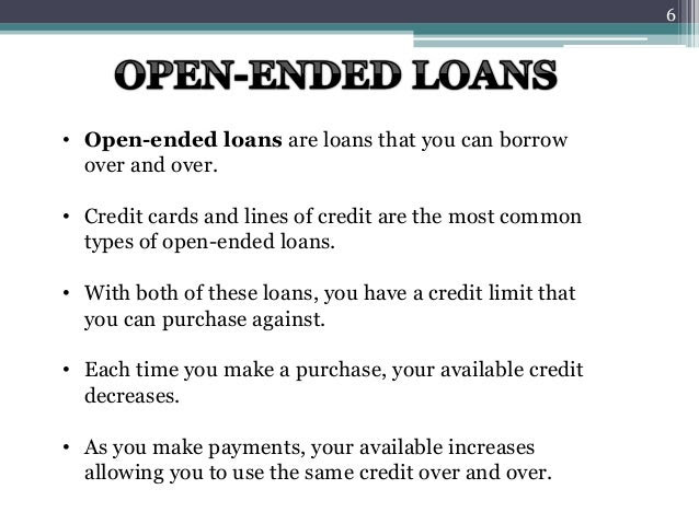 loans and types 6 638
