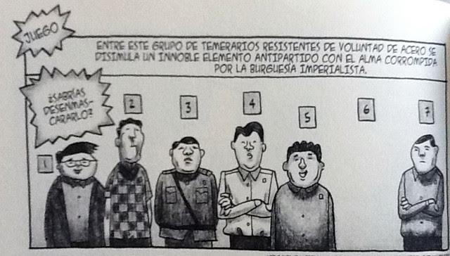 Viñeta de Pyongyang - Juego02