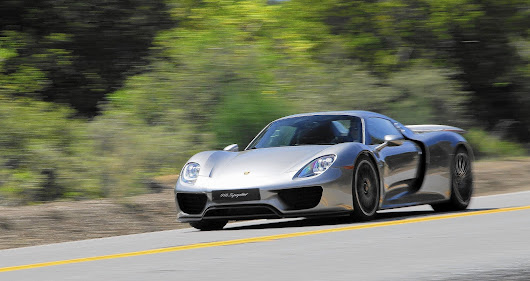 918 Spyder is Porsche's electrified future