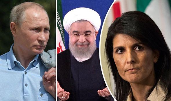 Russia's Putin, Iran's president and Nikki Haley