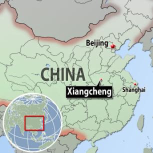 Xiangcheng China Locator
