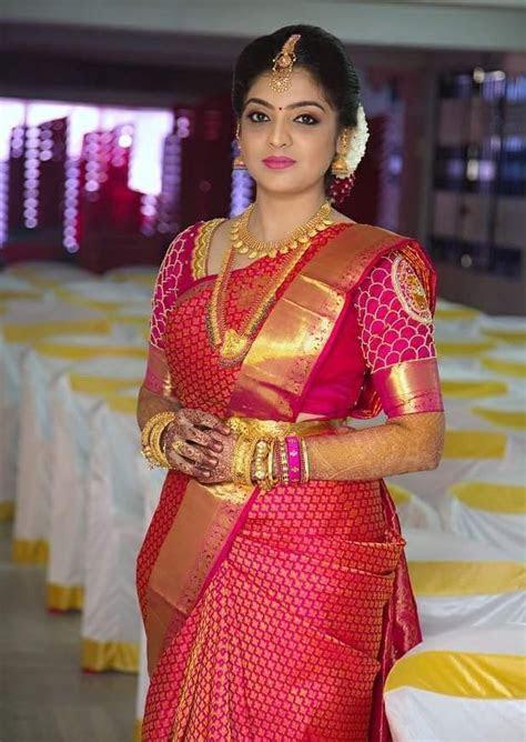 Nice pink   prince&princess in 2019   Saree wedding