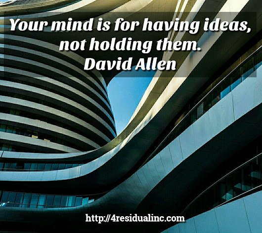 "Gundars Minalgo on Twitter: ""Your mind is for having ideas, not holding them. - David Allen #productivity #mindset """