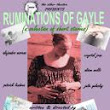 Mid-Fringe Update! Ruminations of Gayle – Live!