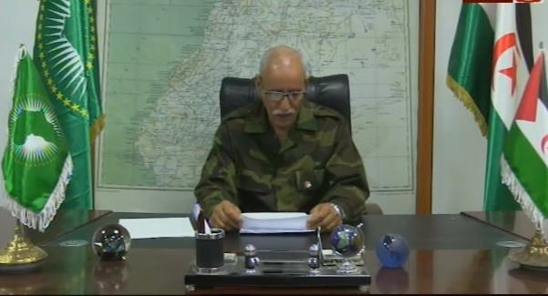 """""""En los campamentos saharauis no se ha registrado ningún caso de la Covid-19"""", Brahim Gali"""