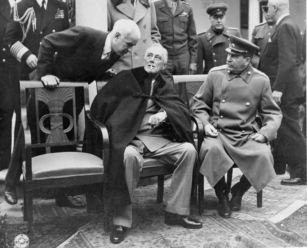 Αποτέλεσμα εικόνας για stalin roosevelt