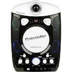VocoPro - CD+G/Bluetooth Karaoke System - White/Black
