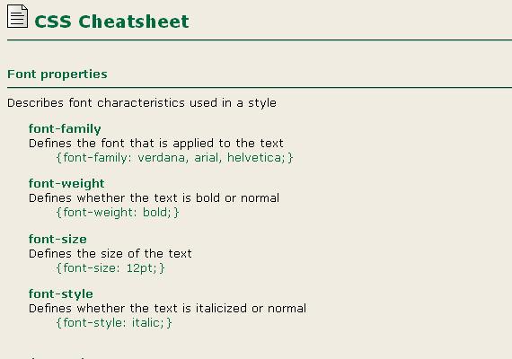 Cheatsheets9