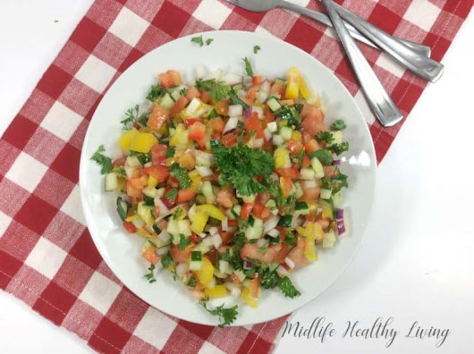 Weight Watchers Mediterranean Salad