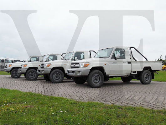 Toyota Landcruiser GRJ79 Pick Up