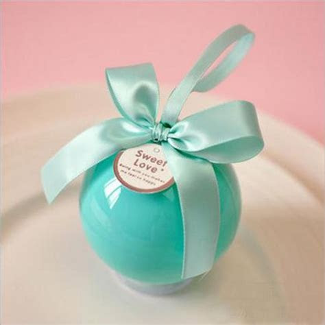 Multicolor Creative Round Ball Candy Box Wholesale Luxury