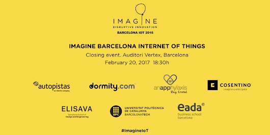 Imagine Barcelona IoT 2016-2017 Closing Event