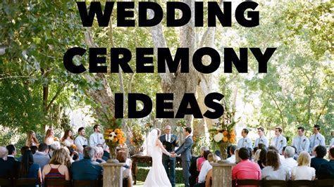 Creative Wedding Ceremony Ideas Video   YouTube