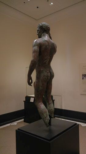 DSCN7520 _ Victorious Youth, Greek, 300-100 B.C., Getty Villa, July 2013