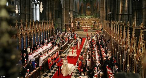 Royal Wedding: Inside Westminster Abbey for Kate Middleton