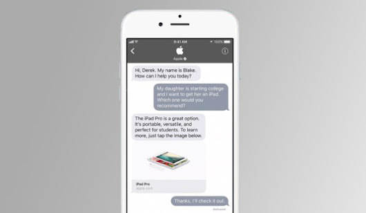 Apple facilita la comunicación entre empresas y usuarios con Business Chat - Marketing Directo