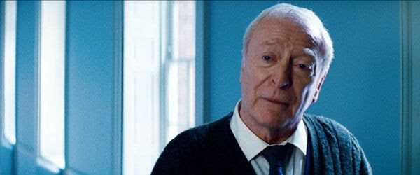 Michael Caine as Alfred Pennyworth in THE DARK KNIGHT RISES.