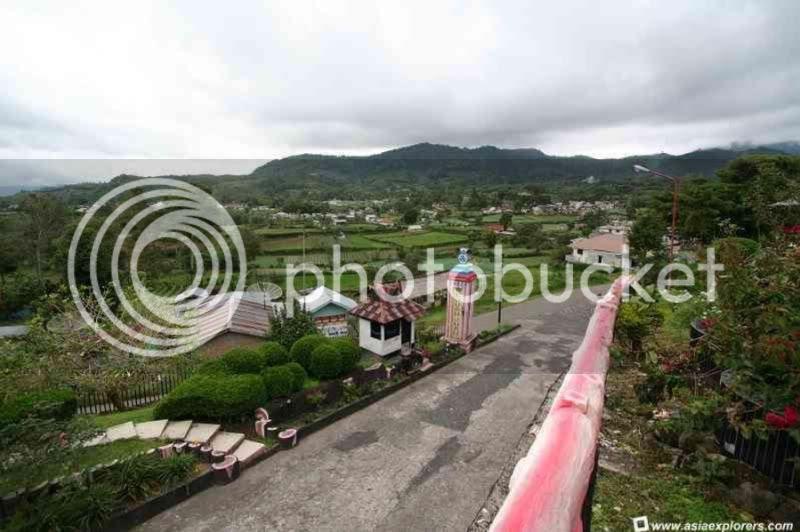 Berastagi Town in sumatra utara