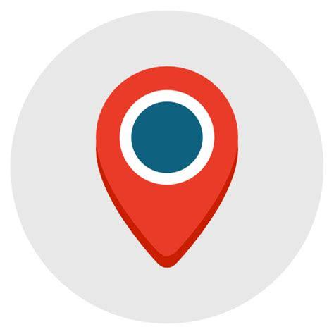 lokasi peta petunjuk geografi gps ikon gratis