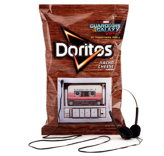 Play the Guardians of the Galaxy Vol 2. Soundtrack from a Dorito Bag