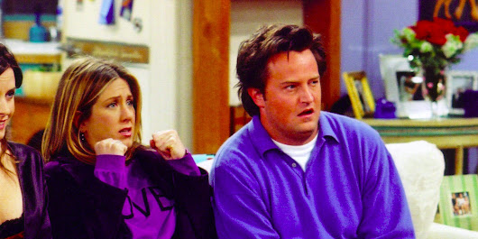 20 years ago, Matthew Perry and Jennifer Aniston made a very '90s instructional video for Windows 95