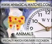 Whimsical Animal Watches