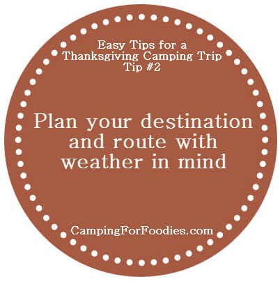 Tips To Make Camping On Thanksgiving An Easy And Fun Tent Or RV Trip