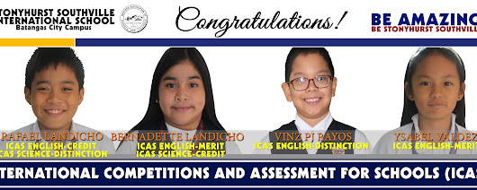 Stonyhurst Southville International School - Top School in Batangas - SSIS Scores Twin Victories in International Competition