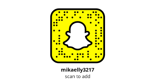 Add me on Snapchat! Username: mikaelly3217