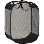 Honey-Can-Do Hmp-03891 Mesh Hamper with Handles