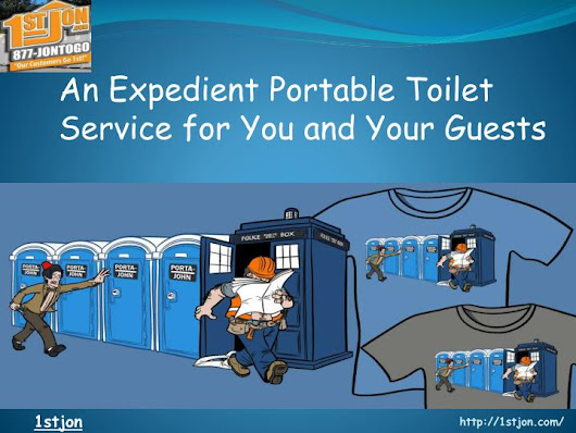 PPT - An Expedient Portable Toilet Service for You and Your Guests PowerPoint Presentation - ID:7560710