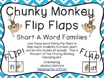 Chunky Monkey Flip Flaps Freebie