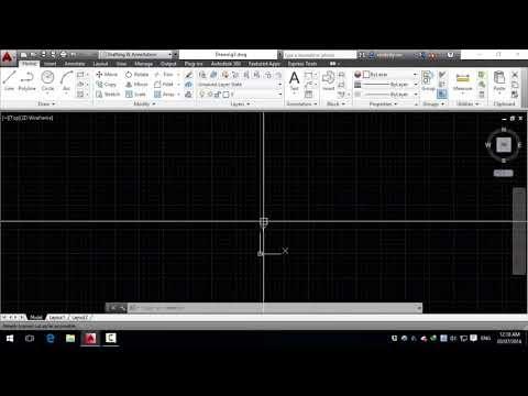 Tự học autocad cơ bản -Bài 04. Công cụ vẽ và chỉnh sửa L, M, CO