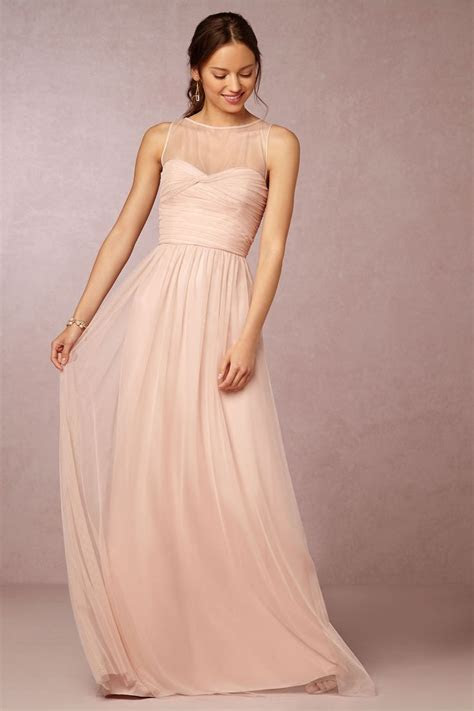 17 Best ideas about Blush Bridesmaid Dresses on Pinterest