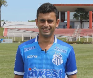 Andrezinho, atacante do Sinop (Foto: Júlio Tábile/SinopFC)