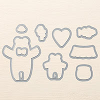 Bear Hugs Framelits stirbt von Stampin 'Up!
